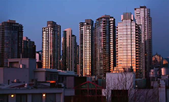 Vancouver's glass skyline (Mikul Media, Flickr)