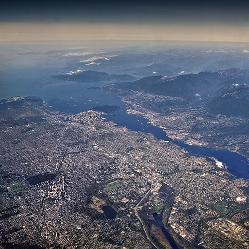 Metro Vancouver from the sky (news1130.com)