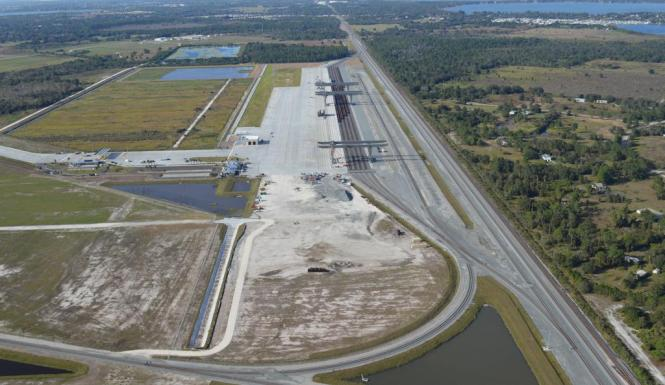 A new logistics facility in Central Florida, and a potential lynchpin of corridor-wide economic development strategies